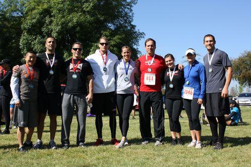 5k medal winners