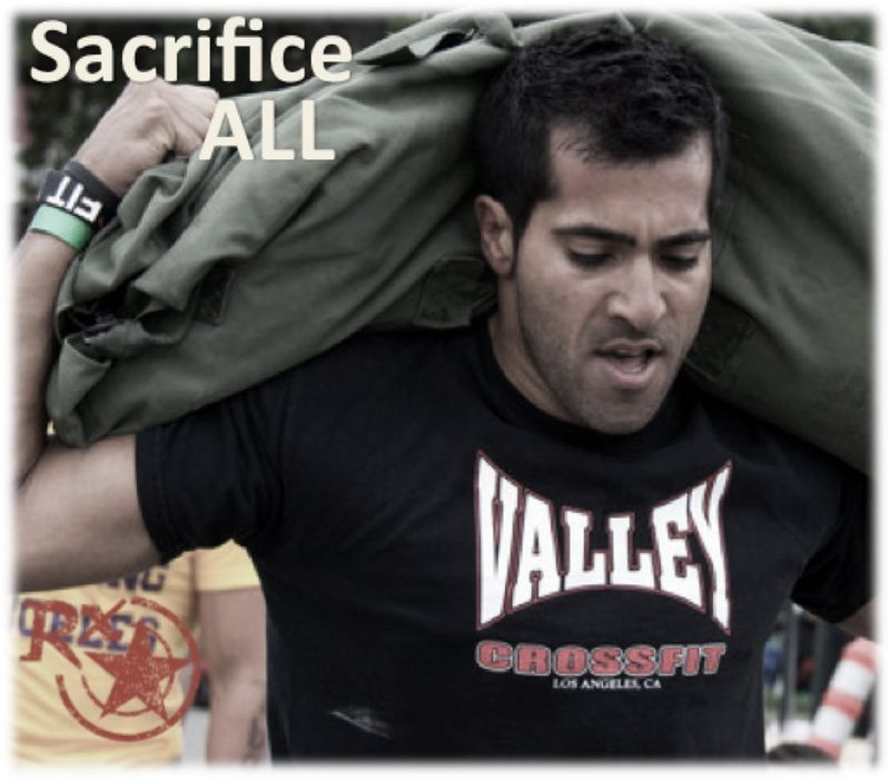 Sacrifice all