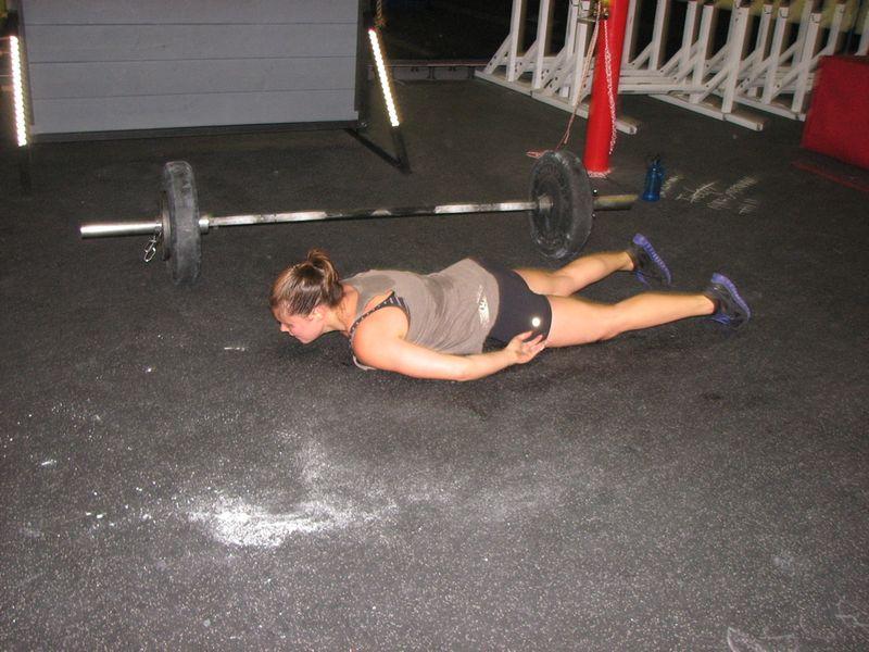 Lisa planking